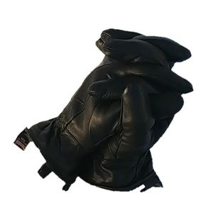 100% LEATHER 3M Thinsulate insilation womans large